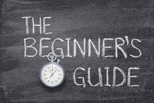 beginners guide watch