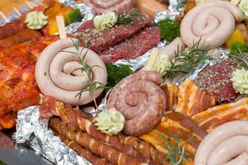 grillen, grillfleisch