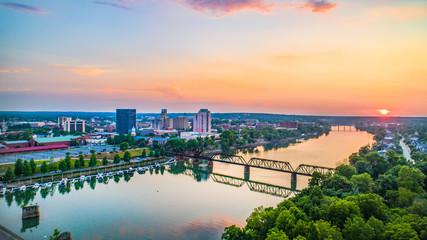 Augusta, Georgia, USA Aerial Wall mural