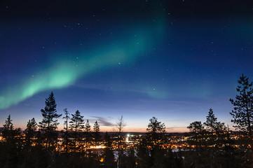 Aurore polaire Aurore Boréale Rovaniemi