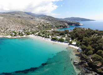Wall Mural - Amazing bay with beach Aliki, Thassos islands, Greece