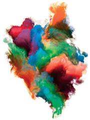 Colorful Paint.