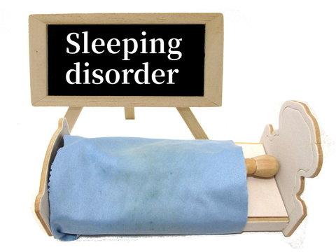 睡眠障害のイメージ