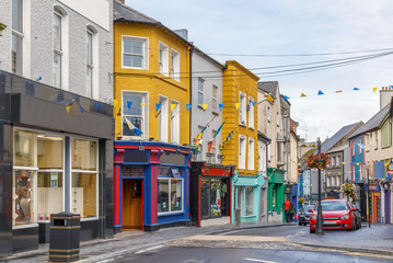 Wall Mural - Street in Ennis, Ireland