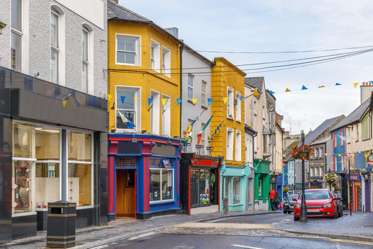 Street in Ennis, Ireland