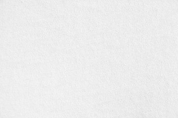 Closeup white cotton fabric texture background.