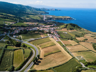 View of the tea plantation in Maia on San Miguel island, Azores - Portugal.