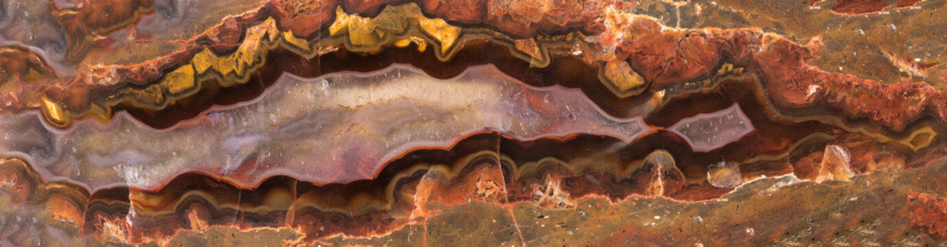 Colorful Agate. Natural textures and minerals for background. Natural stone agate surfaces, backgrounds and wallpapers.