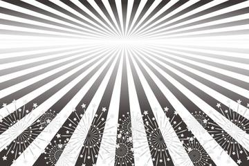 背景素材壁紙,放射線,集中線,光,輝き,煌めき,ビジネス広告,宣伝ポスター,スターマイン,花火,無料
