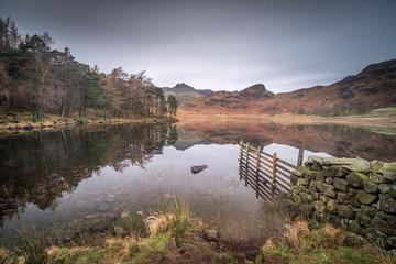 Blea tarn in the Lake District