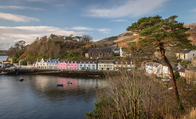 Portree in the isle of Skye