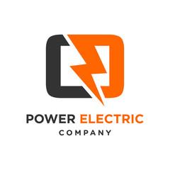 electric logo initials O