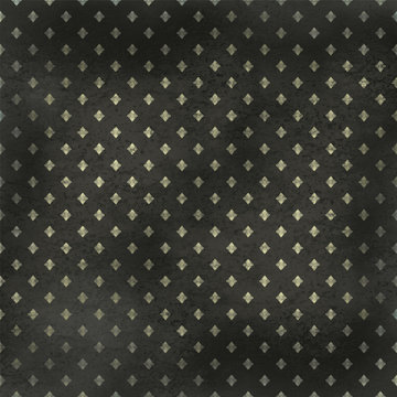 Dark grunge a background with a pattern rhombuses