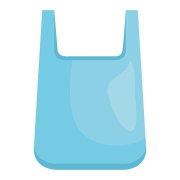 plastic bag recycle element vector illustration