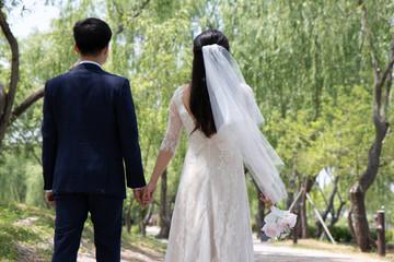 결혼 사진 - 궁남지