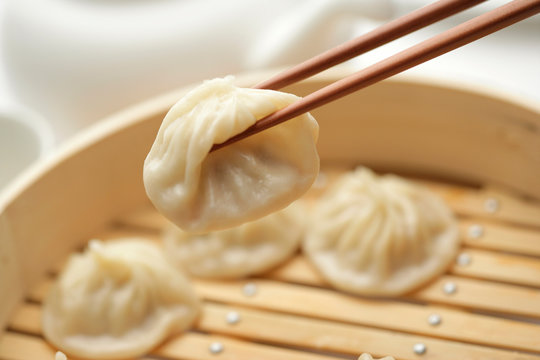 dimsum is delicious Asian food with an appetizing look