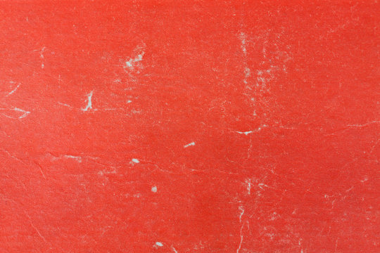 Grunge Red Paper Book Cover Texture Background