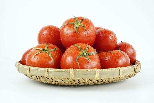 신선한 유기농 토마토
