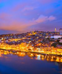 Fototapete - Porto Old Town Douro Portugal
