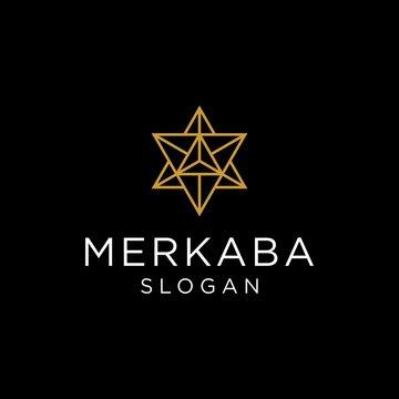 merkaba logo vector graphic download