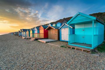 Wall Mural - Beach Huts at MIlford on Sea