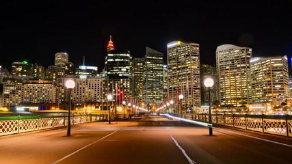 City at night, Sydney, Australia Fotomurales