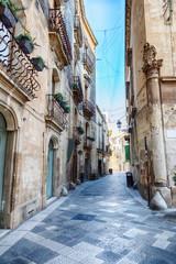street in Lecce, region Puglia, Italy