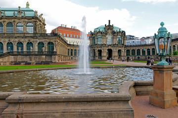 Fototapete - Dresden: Zwinger