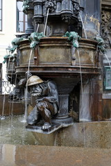 Wall Mural - Cholera Brunnen Dresden