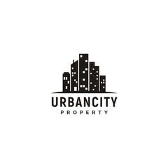 City Skyline for Real Estate Logo design