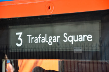 Bus No 3 in London