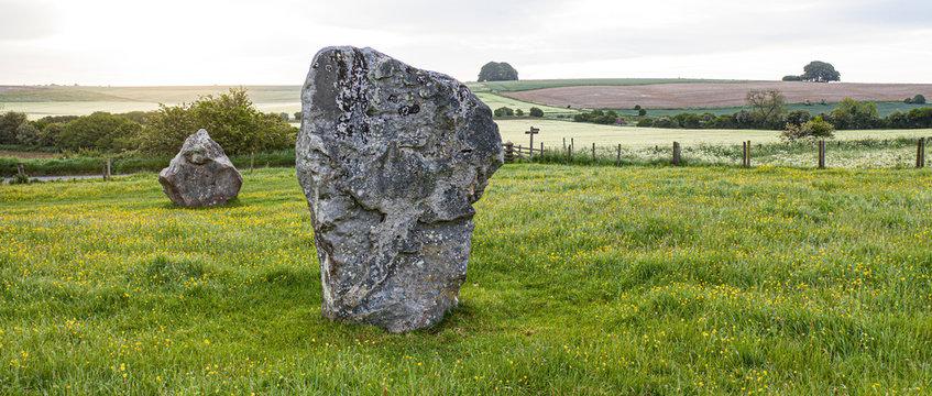 Avebury Stones in Wiltshire