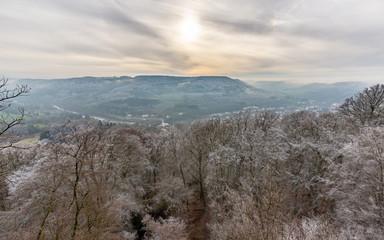 Wintersonne über dem Sauertal