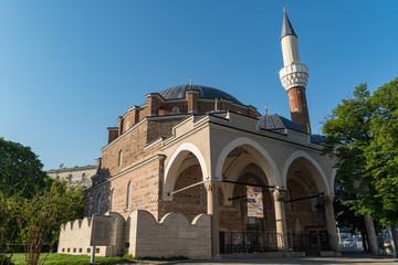 Banya Bashi Mosque in Sofia. Bulgaria