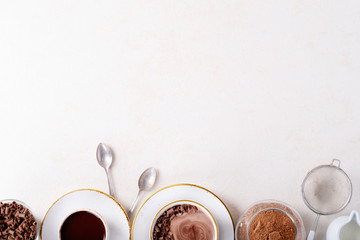 Printed roller blinds Chocolate Homemade hot chocolate drink