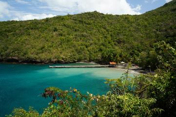 Anse Noire in Martinique