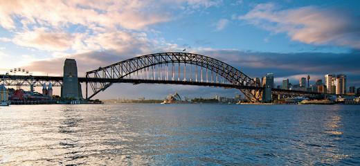 Sydney Harbour Bridge and City Panorama