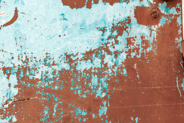 Wall Mural - Grunge scratched distressed metal surface background