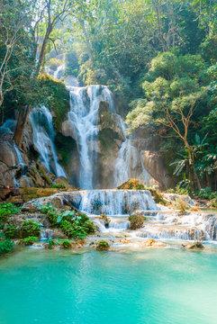 Kuang Si Waterfall, Laos