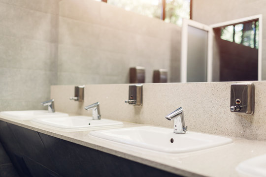 Public Bathroom Mirror Photos Royalty Free Images Graphics Vectors Videos Adobe Stock