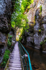 Eco path Struilitsa in Western Rhodope mountain, Bulgaria