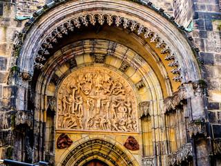Beautiful Architectural details in Prague in the Czech Republic