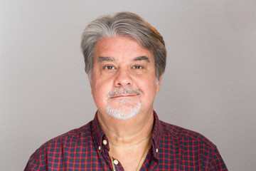 Adult man studio portrait. The image can be used as resource for a particular message based on the content.
