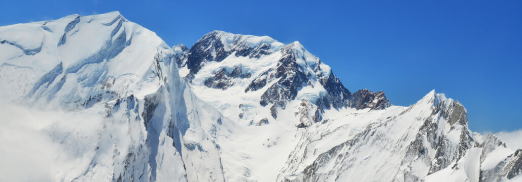 Majestic view southern alps /Mount Cook National park,New Zealand