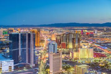 Poster Las Vegas Las Vegas, Nevada, USA Skyline