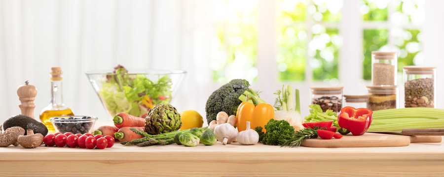 balanced diet, cooking, culinary and food concept