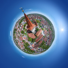 little planet from Weissach Germany
