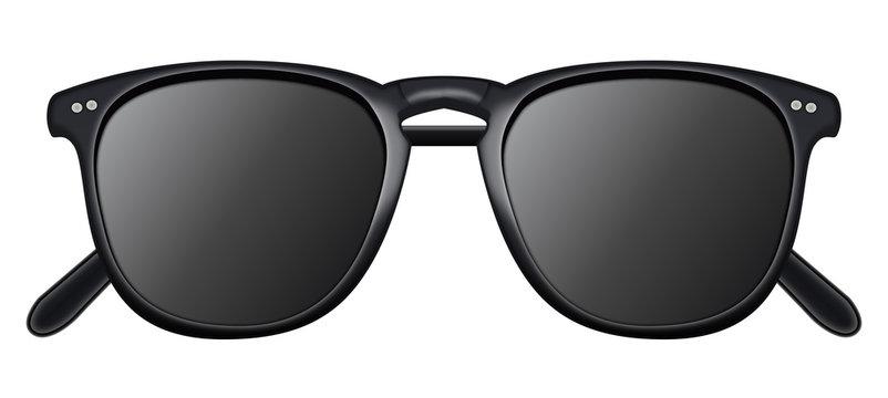 Illustration de lunettes de soleil pour protection des yeux l'été