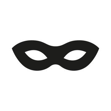 Mask superhero. Carnival mask icon. Vector