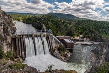 Papiers peints Barrage Long Lake Dam On The Spokane River.
